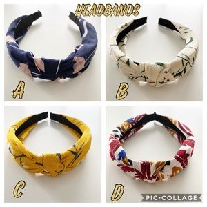 NEW Headbands 4 styles to choose from- OS